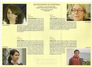XXI Encuentro de Escritoras